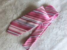 Thomas Nash Pink Stripe Tie