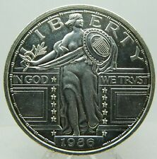 MONEDA DE 2 ONZAS TROY   PLATA 999 PURA  -USA 1986 LIBERTY