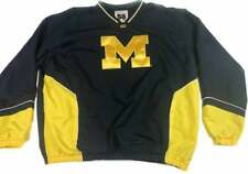 Michigan Wolverines Pullover Jacket 3XL