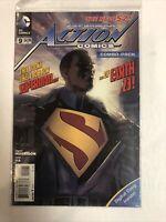 Action Comics (2012)  #9 (NM) Calvin Ellis Superman | 1st Full Cover App combo