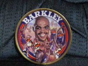 "Charles Barkley 1993 Sports Impressions Souvenir Plate 4.5"" by Robert Tanenbaum"