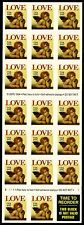 1995 Scott 2949a Booklet Pane of 20 plus label (32c) Love Cherub stamps MNH