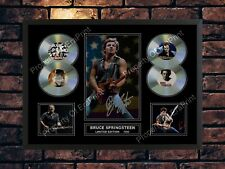 BRUCE SPRINGSTEEN SIGNED LIMITED EDITION MEMORABILIA A4 AUTOGRAPH PHOTO PRINT