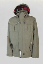 L1 Vet Insulated Snowboard Jacket, Men's Size Large, Army Vintage Gray New