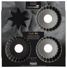 master class non-stick mini 4 hole tartlet pan 26x26cm (holes 10x2cm)