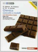 CHIMICA: CONCETTI E MODELLI volume 1, Valitutti, ZANICHELLI, 9788808204332