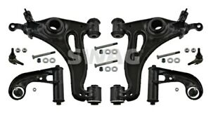 SWAG Front Axle N/S=O/S Control Arm Kit Fits MERCEDES W202 S202 1703300107