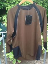 Polaris Cycling Man's Outlaw Jersey in brown & Black-Size Large-New with Tags