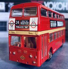 LEYLAND ATLANTEAN LONDON TRANSPORT EFE DIECAST 1/76 SCALE MODEL BUS 18102
