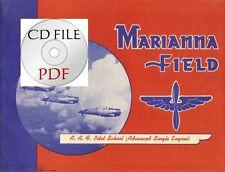 CD File Marianna Field AAF Pilot School Advanced Single Engine P-40 AT-6 WW2 PDF
