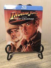Indiana Jones 3 Steelbook Last Crusade Uk Zavvi blu ray-dvd [Rare!Glossy-Mint]