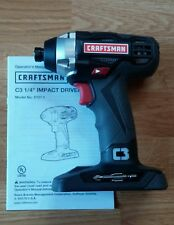 CRAFTSMAN C3 19.2v Impact Driver Model 5727.1  * PRIORITY SHIPPING AVAILABLE *