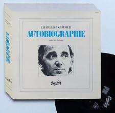 "LP Charles Aznavour  ""Autobiographie"""