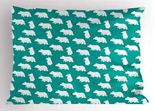 Cartoon Woodland Pillow Sham Decorative Pillowcase 3 Sizes for Bedroom Decor