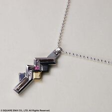 NEW!! FINAL FANTASY XIII Silver Pendant Lightning,Silver 925,42CM,From Japan,F/S