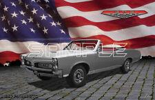 1967 Pontiac Gto Convertible American Muscle Print