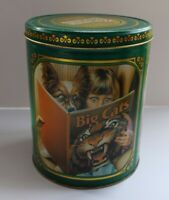 Purina Biscuits Dog Food Tin Empty Vintage