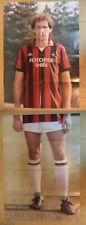 POSTER diviso in 2 parti FRANCO BARESI Milan 70 x 49 cm  + 70 x 49 cm