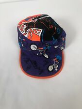 New listing Vintage Dr Shock Youth Kids One Size Fots All Sample Painters Cap All Over Print