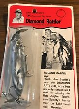 "Lot of 2 Capt Jim Strader's Diamond Rattler Topwater Propeller Lures - 4"" 5/8 oz"