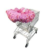 Floppy Seat Deluxe Washable Shopping Cart & High Chair Cover Carry Bag Pink New!