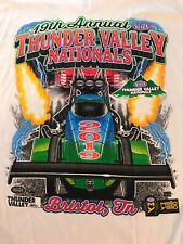 NHRA DRAG RACING 2019 THUNDER VALLEY NATIONALS T- SHIRT  SIZE 3X