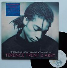 """LP Terence Trent d'Arby  """"Introducing the hardline according to Terence Trent.."""""""