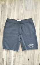 ABERCROMBIE ATHLETIC SWEAT FLEECE SHORTS 【LARGE】 176-135-0014-023 GRAY NEW