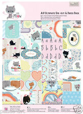 Papermania 48 sheet ultimate A4 160gsm decoupage paper Little Meow cats kittens