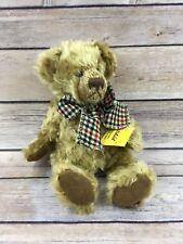 NWT GERMAN SUNKID  JOINTED PLUSH BEAR - MOHAIR STYLE