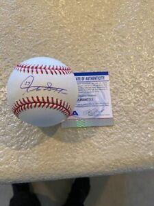 Giancarlo Stanton Autographed American League Baseball PSA/DNA COA