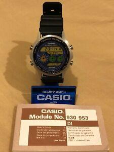 Rare vintage NOS casio touring master DW-7600(953) Japan