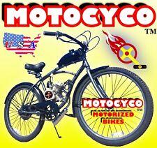 66cc/80cc 2-Stroke Motorized Bike Kit And 26� Cruiser Bicycle Diy High Power
