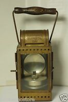 A. SARTORIUS WUPPERTAL 1953 Deutsche Bahn (DB) German Railroad Lantern - Lamp