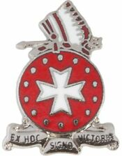 No-Shine (NS-T-C-0014A) 14th Field Artillery Crest  Tie Tac