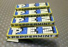 4 x PEZ Peppermint Klicker / Knacker
