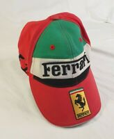 Italian Vintage Ferrari Offical Licensed Hat Cap Adjustable Shell Formula One F1