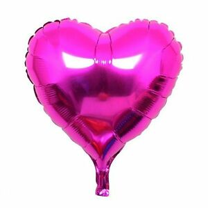 """10"""" 18"""" 30"""" Heart Foil Balloon Baby Shower Wedding Bridal Party Mother Day USA"""