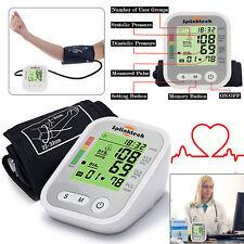 Monitor de presión arterial digital Medidor Intellisense 180 memoria automática de la parte superior del brazo