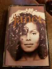 Janet. by Janet Jackson (Cassette, May-1993, Virgin)
