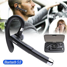 Wireless Bluetooth Earphone Bt Handsfree Headphone Dual Mic For iPhone Android