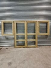 More details for 2 summerhouse doors (h178 w76 and 2windows h80cm w 76cm) with glass, with frames