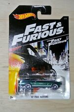 2016 HOT WHEELS FAST AND FURIOUS 7 /67 FORD MUSTANG NEW