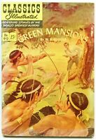 Classics Illustrated, Green Mansions #190, $0.15 - 1st Ed.  HRN 89 - FN