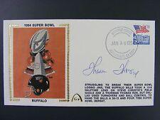 Thurman Thomas Autographed Signed Gateway Silk Cache Cover 1994 Super Bowl Bills