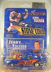 2000 Action NHRA WWF Racing JERRY TOLIVER WWF Stone Cold 2000 Camaro Funny Car