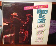 GRAND OLE OPRY Saturday Night LP RARE UK BRUNSWICK IMPORT Bill Monroe