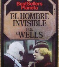 El hombre invisible/ H.G. Wells/ BestSellers Planeta/ Planeta/ 1985/ Barcelona
