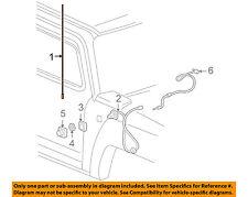 Hummer GM OEM 06-10 H3-Antenna Mast 15114228