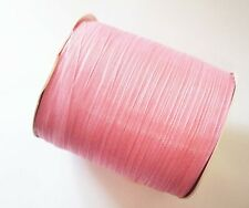 15 Meters Organza Ribbon - 6mm - Light Pearl Pink